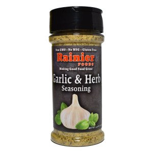 Rainier Garlic & Herb Seasoning, 5.25 oz
