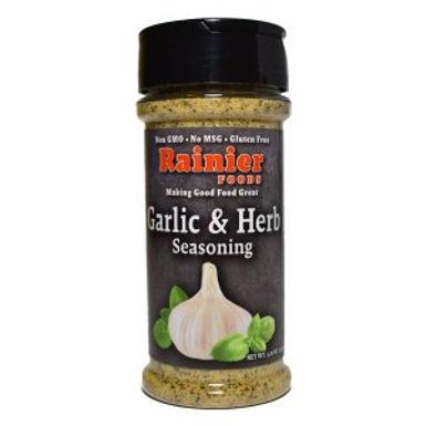 Rainier Garlic & Herb Seasoning, 5.25 oz