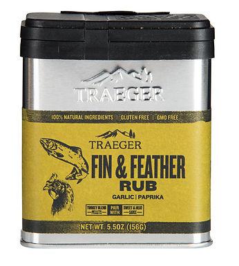 Traeger Seasoning, Fin & Feather Rub, 5.5 oz