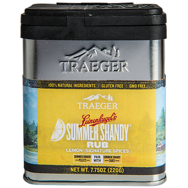 Traeger Seasoning, Leinenkugel's Citrus Summer Shandy Rub, 6.75 oz