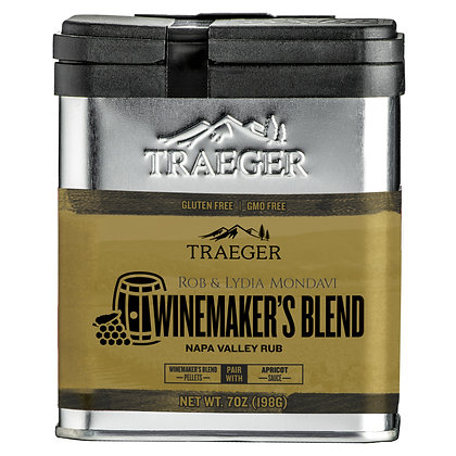 Traeger Seasoning, Winemaker's Blend Napa Valley Rub, 7 oz
