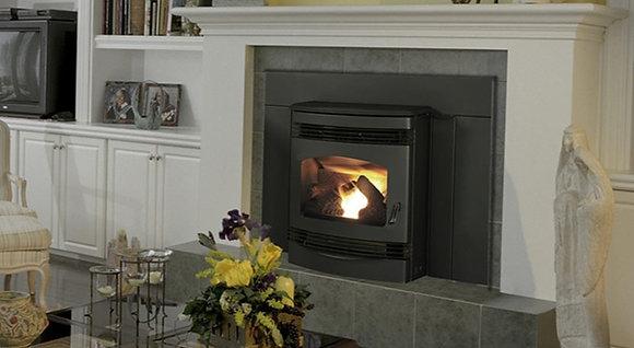 Quadrafire Santa Fe Pellet Insert, Classic Black
