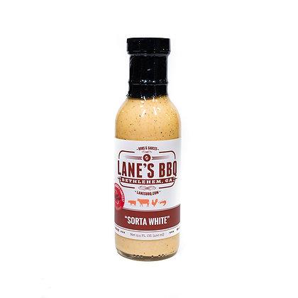 Lane's BBQ, Sorta White BBQ Sauce, 13.5 oz
