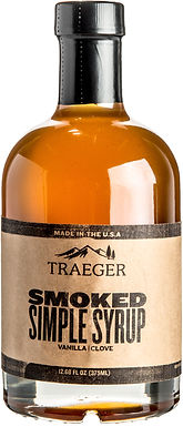 Traeger Smoked Simple Syrup, 12.68 oz