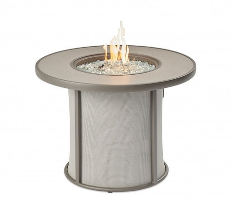 Outdoor GreatRoom Firepit, Stonefire, Grey