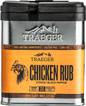 Traeger Seasoning, Chicken Rub, 9 oz