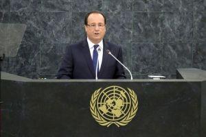 François Hollande, le maître de guerre