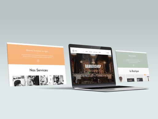 Site web - BarberShop