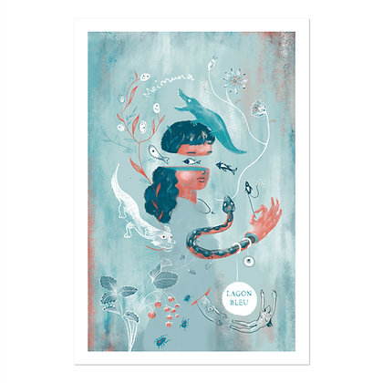Lagon Bleu - affiche + code de téléchargement