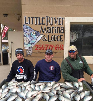 Weiss Lake Crappie Report for week of March 30 - April 5.