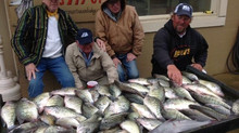 Weiss Lake Crappie Fishing Report for week of April 20, 2015.
