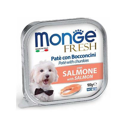 Monge paté con salmón x 100 gr