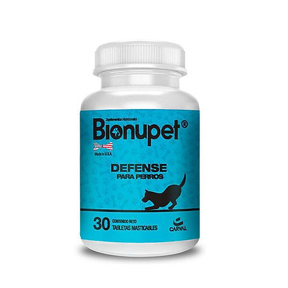 Bionupet defense para perros x 30 Tab