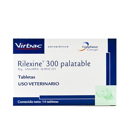 Rilexine 300 palatable
