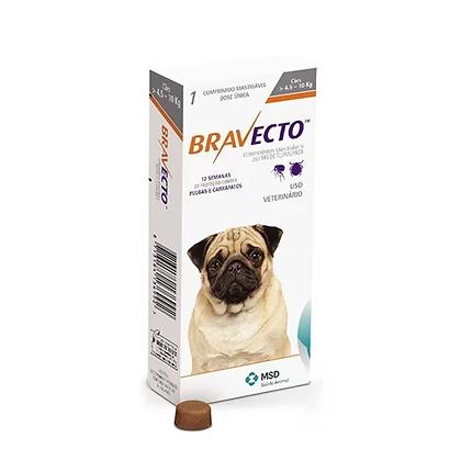 Bravecto antipulgas para perros de 4.5 a 10 kg