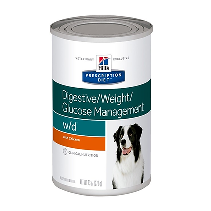 Hills lata w/d digestive weight glucose management x 370 gr