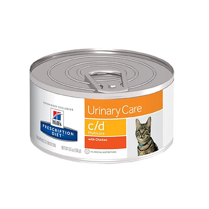 Hills lata prescription diet c/d urinary care x 156gr