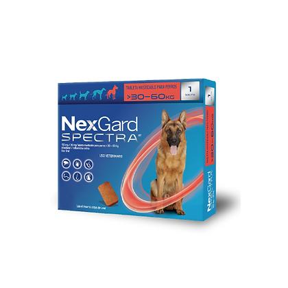 Nexgard spectra antipulgas para perros de 30 a 60 kg
