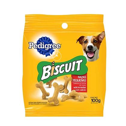 Galletas pedigree biscuit adulto razas pequeñas 100 g