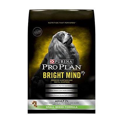 Pro plan bright mind adult 7+ small breed