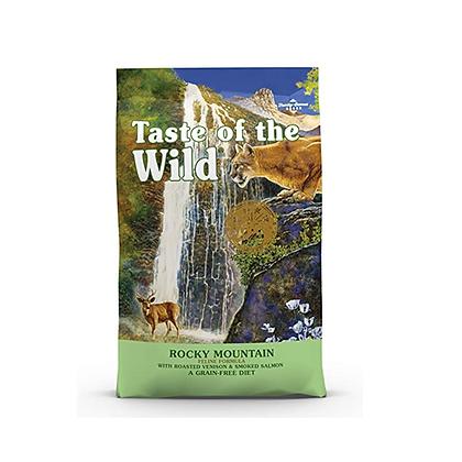 Taste of the wild  para gatos receta venado y salmón ahumado