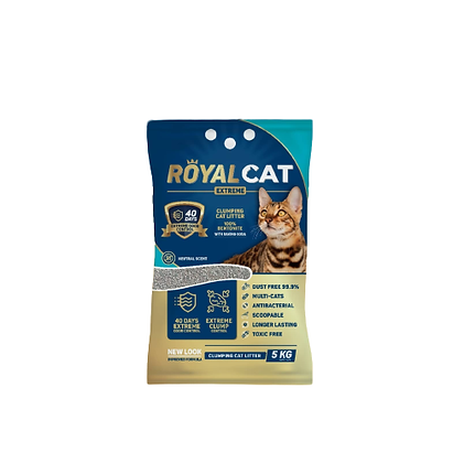 Arena para gato royal cat sin aroma