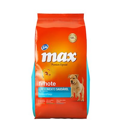 Max premium cachorros sabor a pollo