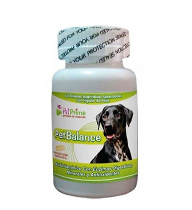 Pet Balance x 60 Tabletas masticables