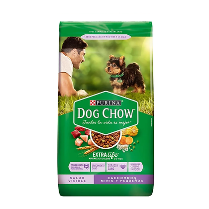 Dog chow cachorros minis y pequeños