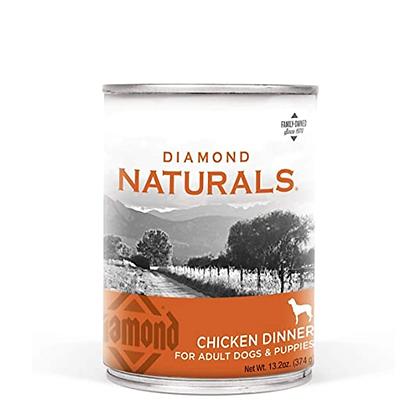 Lata alimento húmedo diamond naturals receta pollo