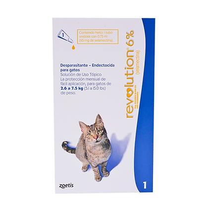 Revolution 6% desparasitante para gatos
