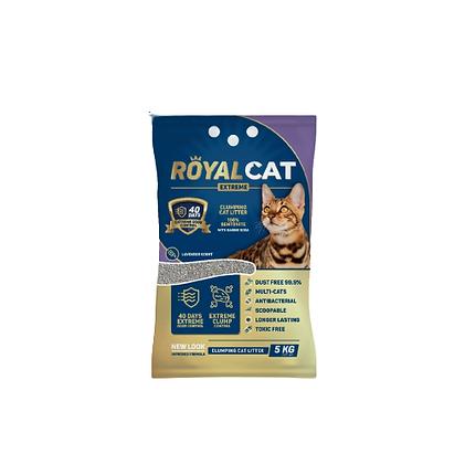 Arena para gato royal cat aroma lavanda