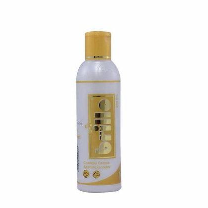 Shampoo crema acondicionador brillo