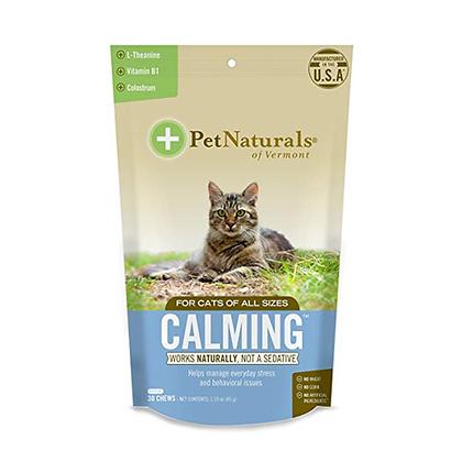 Bocados masticables calming para gatos x 21uds