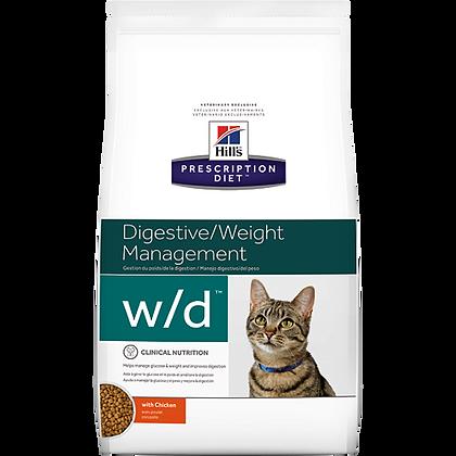 Hills prescription diet w/d digestive management