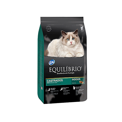 Equilibrio gatos castrados 7+ Indoor