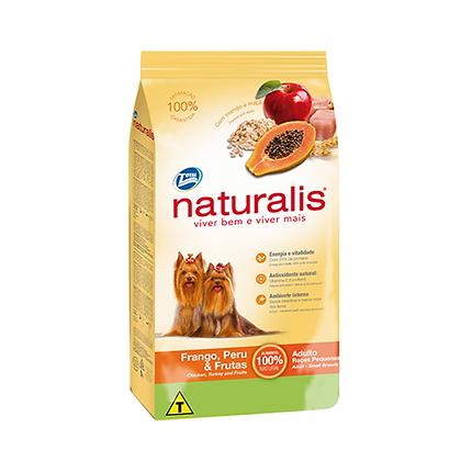 Naturalis adultos razas pequeñas pollo, pavo y frutas