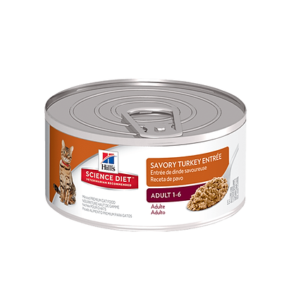 Hills lata para gatos receta de pavo x 156gr