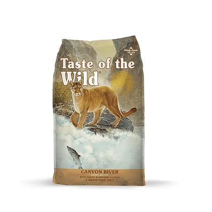 Taste of the wild  para gatos receta trucha y salmón ahumado