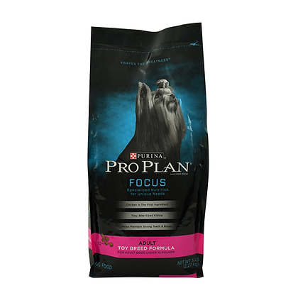 Pro plan focus toy breed formula
