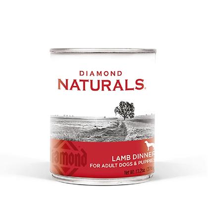 Lata alimento humedo diamond naturals receta cordero