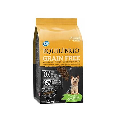Equilibrio adultos grain free razas miniatura x 1.5 kg