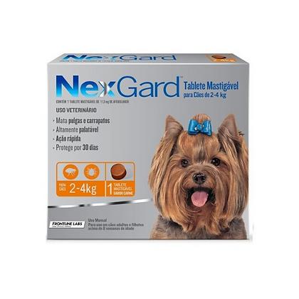 Nexgard antipulgas de 2 a 4 kg