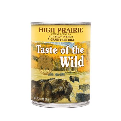 Lata alimento humedo taste of the wild receta bisonte en salsa x 374gr