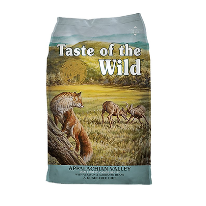 Taste of the wild appalachian valley receta venado