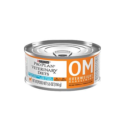 Pro plan alimento humedo veterinary diets om gatos 156 g