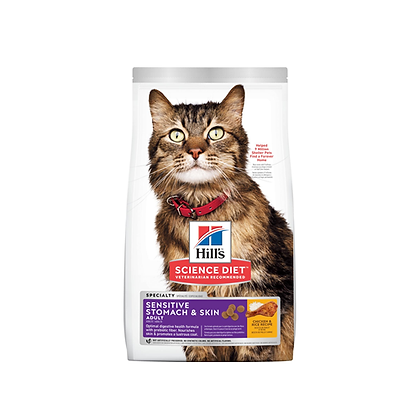 Hill's science diet adult sensitive stomach & skin cat