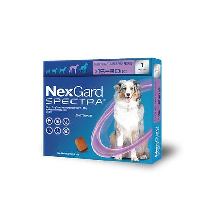Nexgard spectra antipulgas para perros de 15 a 30 kg
