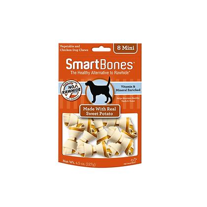 Smartbones camote mini x 8 unidades