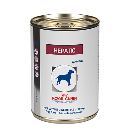 Royal canin lata hepatic x 410 gr